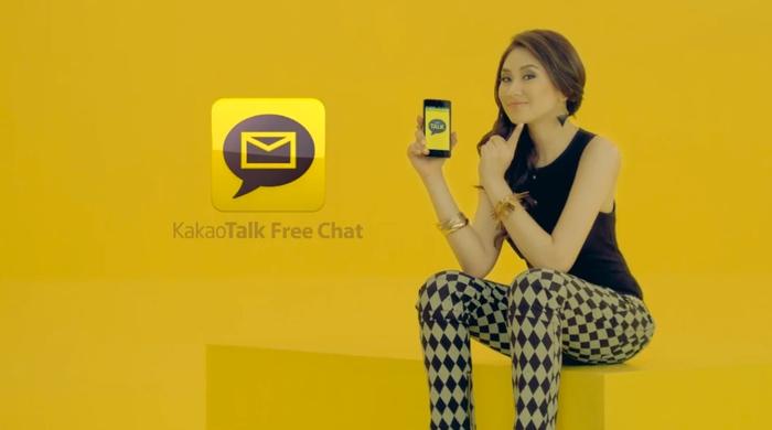 Sarah Geronimo endorses KakaoTalk App
